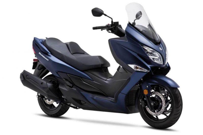 Suzuki Burgman 180cc อาจจำหน่ายในปี 2019