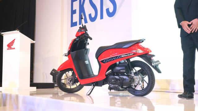 Honda Genio 110 2019 สีแดง