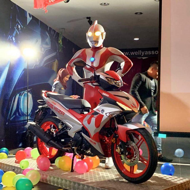 MX King เวอร์ชั่น Ultraman การเปิดตัวพร้อมฮีโร่