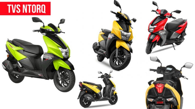 TVS Motors เปิดตัว Ntorq 125 2019 ที่มีให้เลือกหลากหลายสี