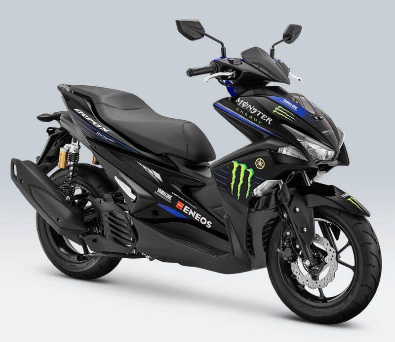 Yamaha Aerox 155 เวอร์ชั่น Motogp Monster Energy