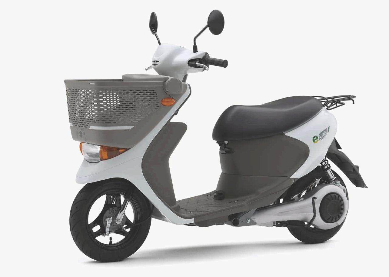 Suzuki 110 125cc สกูตเตอร์ไฟฟ้า