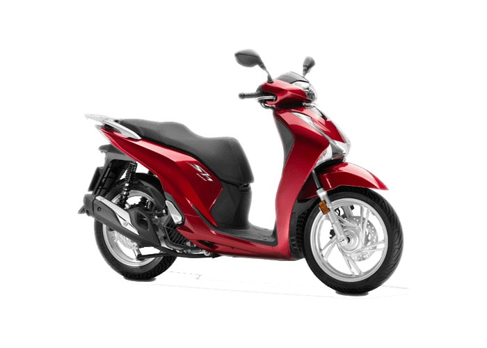 SH150i 2019 สี Candy Lustre Red