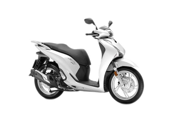 Honda SH150i 2019 สี Pearl Jasmine White