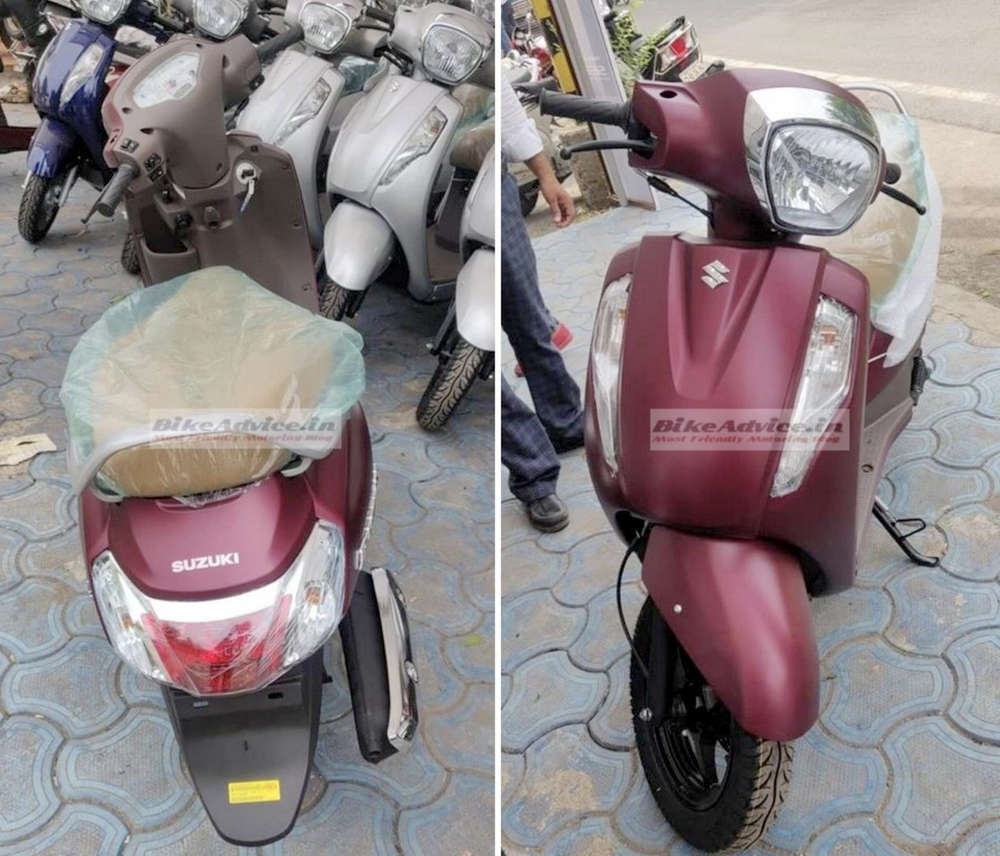 Access 125 รุ่น Matte Red Special Edition