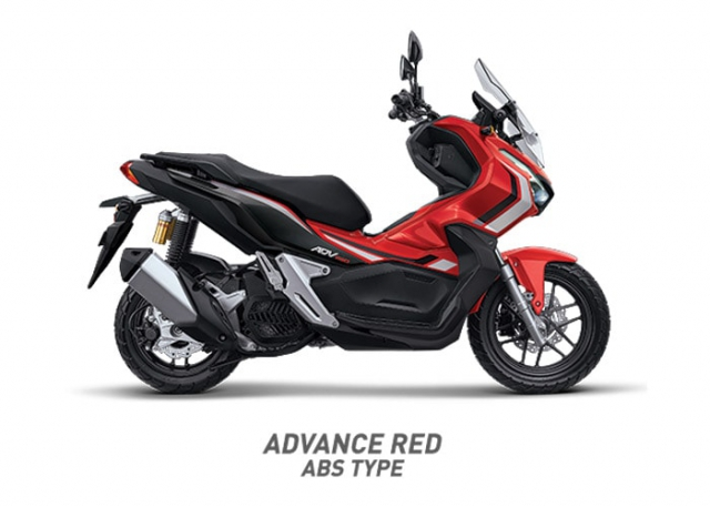 Honda ADV-150 2019 ADVANCE RED