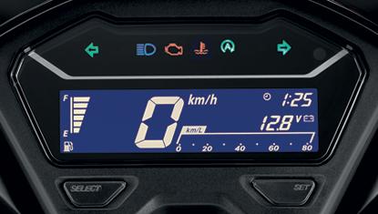 Honda Click 125i 2019 หน้าปัดเรือนไมล์