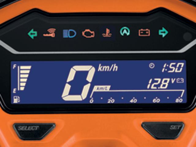 Honda Click 150i 2019 หน้าปัดเรือนไมล์