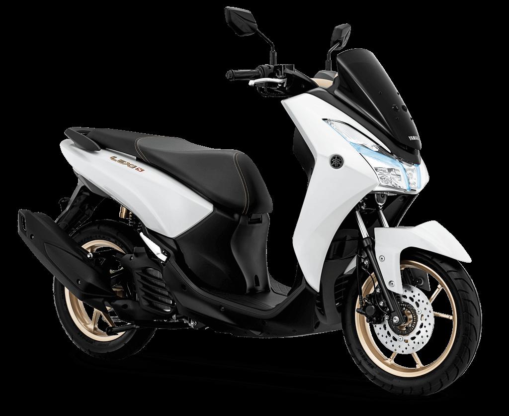 Yamaha Lexi MAXI Signature 2019 สีขาว