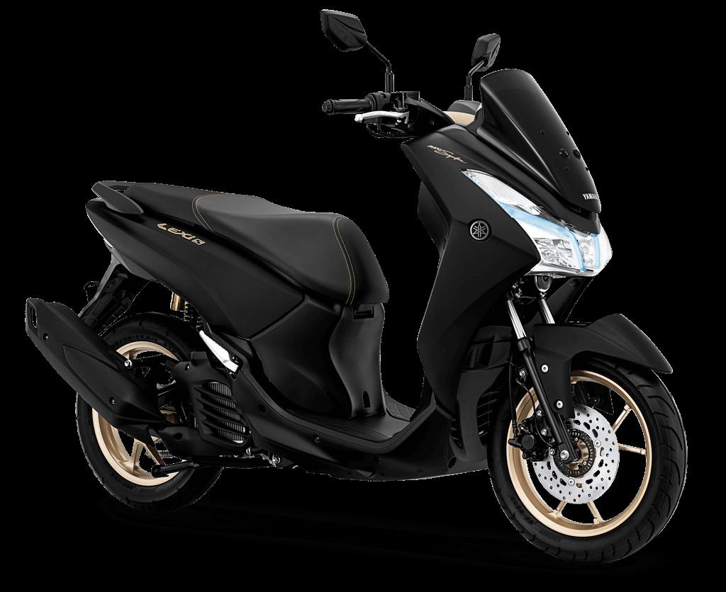 Yamaha Lexi MAXI Signature 2019 สีดำ