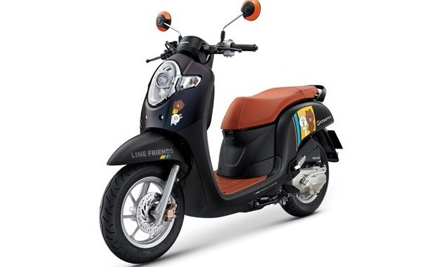 Scoopy i เวอร์ชั่น LINE FRIENDS Special Edition