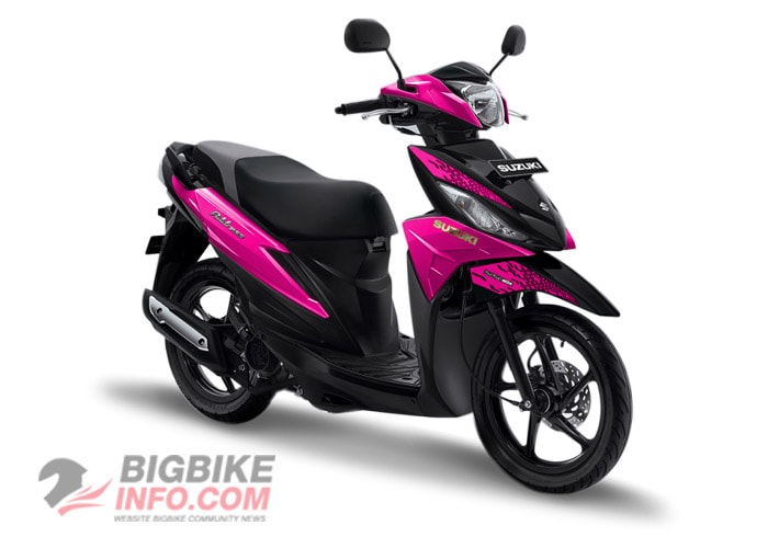 Suzuki ADDRESS 2019 สีชมพู