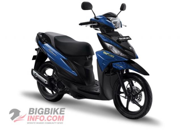 Suzuki ADDRESS 2019 สีน้ำเงินเมท