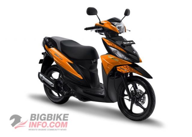 Suzuki ADDRESS 2019 สีส้ม