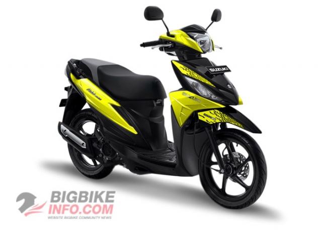 Suzuki ADDRESS 2019 สีเหลือง
