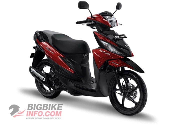 Suzuki ADDRESS 2019 สีแดงเมท