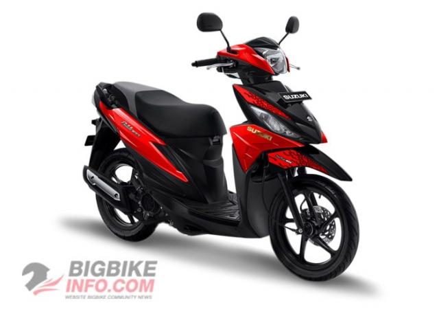 Suzuki ADDRESS 2019 สีแดง
