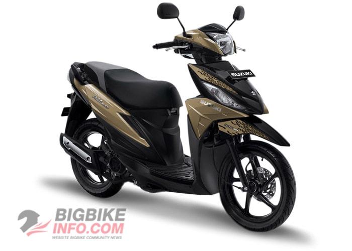 Suzuki ADDRESS 2019 สี Silver Matte Titanium
