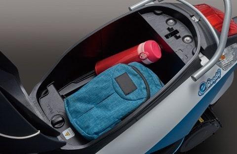 Suzuki e-Ready ช่องเก็บของใต้เบาะถึง 5 ลิตร