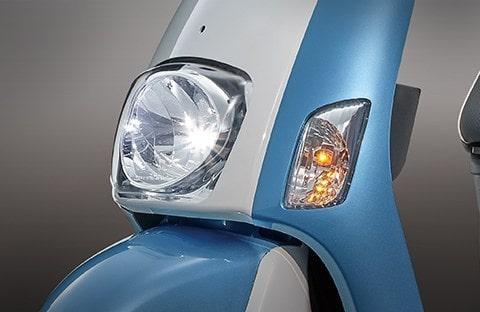 Suzuki e-Ready ไฟหน้าทรงกลม