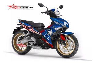 Yamaha Exciter 150 รุ่น Captain America