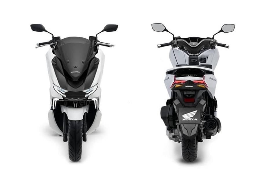 สิทธิบัตรใหม่ All New Honda PCX พร้อมกับ 4 วาล์วและเครื่องยนต์ใหม่