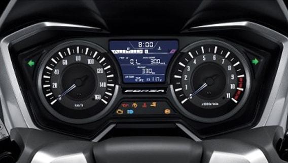 Honda Forza 300 2019 แผงหน้าปัดดิจิทัลใหม่