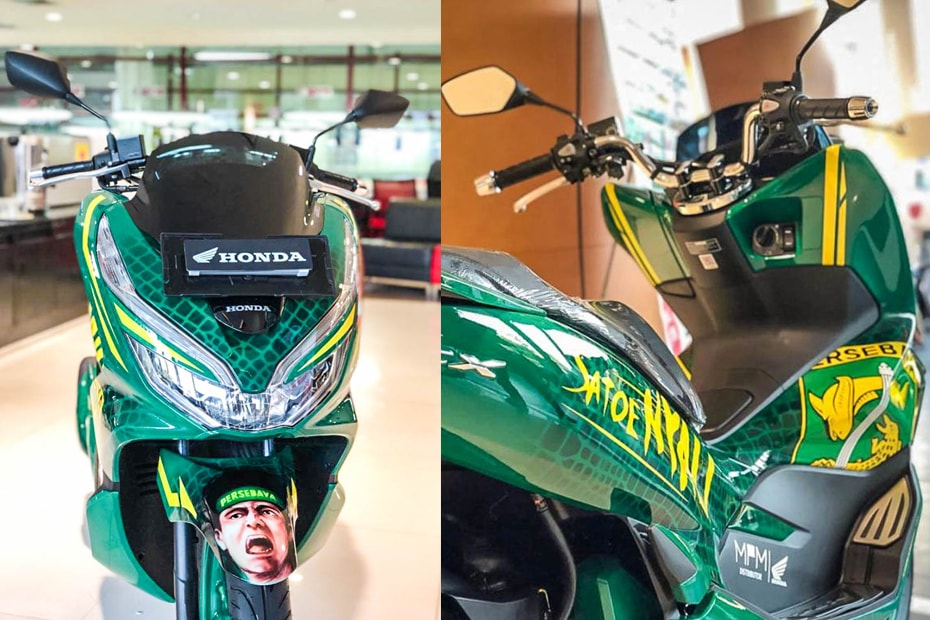 Honda PCX 150 เวอร์ชั่น Persebaya จำหน่ายในราคา 63 ล้านรูเปีย