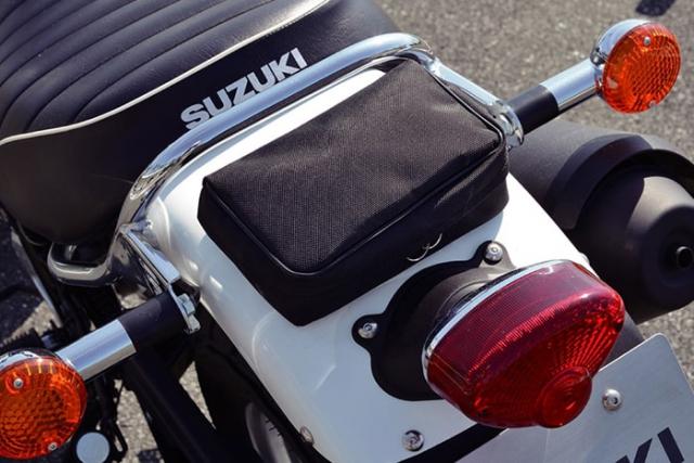 Suzuki VanVan 200 ที่เก็บของช่วงท้าย