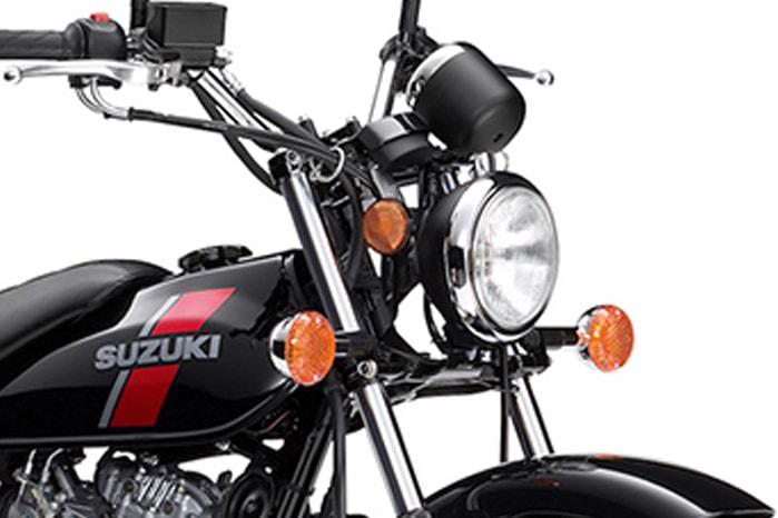 Suzuki VanVan 200 ไฟหน้า