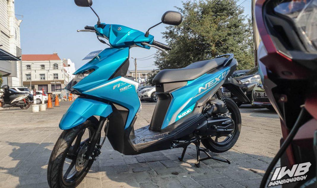 NEX II Cross 2020 สีฟ้า