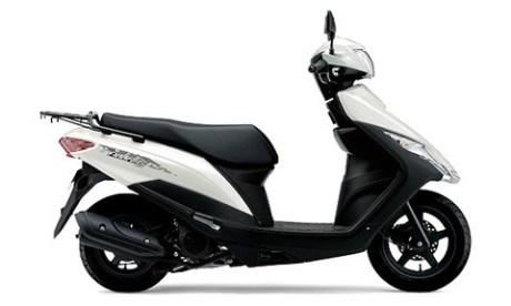 Suzuki Address 125 2020 คลาสสิก-สีขาว