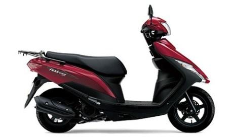 Suzuki Address 125 2020 คลาสสิก-สีแดง
