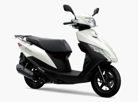 Suzuki Address 125 2020 สปอร์ต-สีขาว