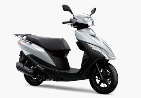 Suzuki Address 125 2020 สปอร์ต-สีเทา