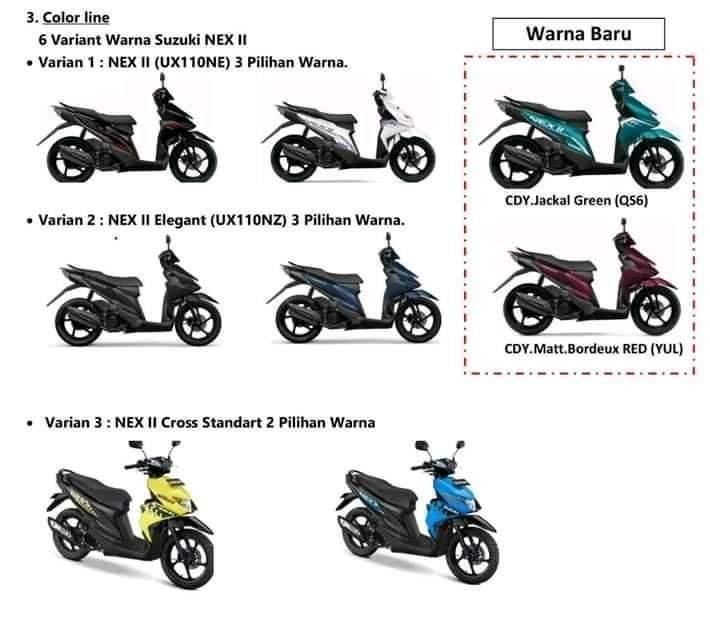Suzuki Nex II Elegant/CROSS