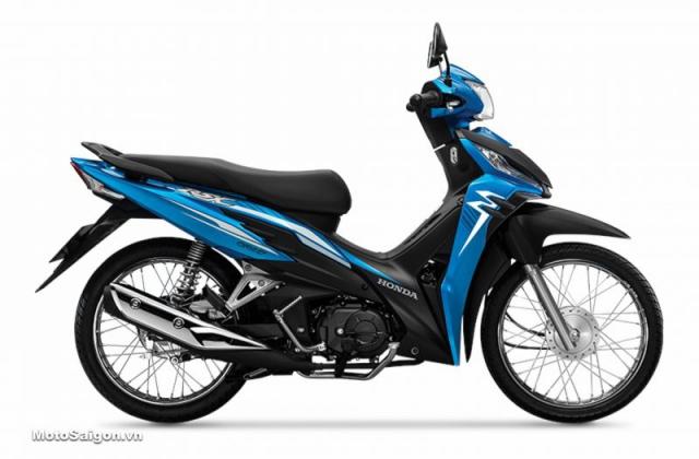 Wave RSX Fi 110 2019 สีฟ้า-ขาว