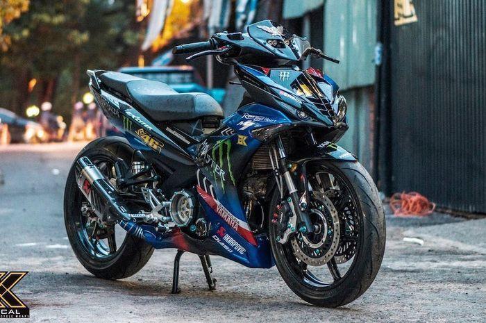 การดัดแปลงของ Yamaha MX King 150 พร้อมกับ Monster Monster Energy
