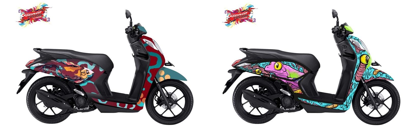 ภาพแปลงโฉมมอเตอร์ไซค์ Honda Genio