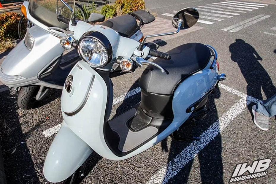 พบกับ Honda Giorno จักรยานยนต์สกูตเตอร์ที่น่ารักมาพร้อมความเร็วสูงสุด 60 กม./ชม.