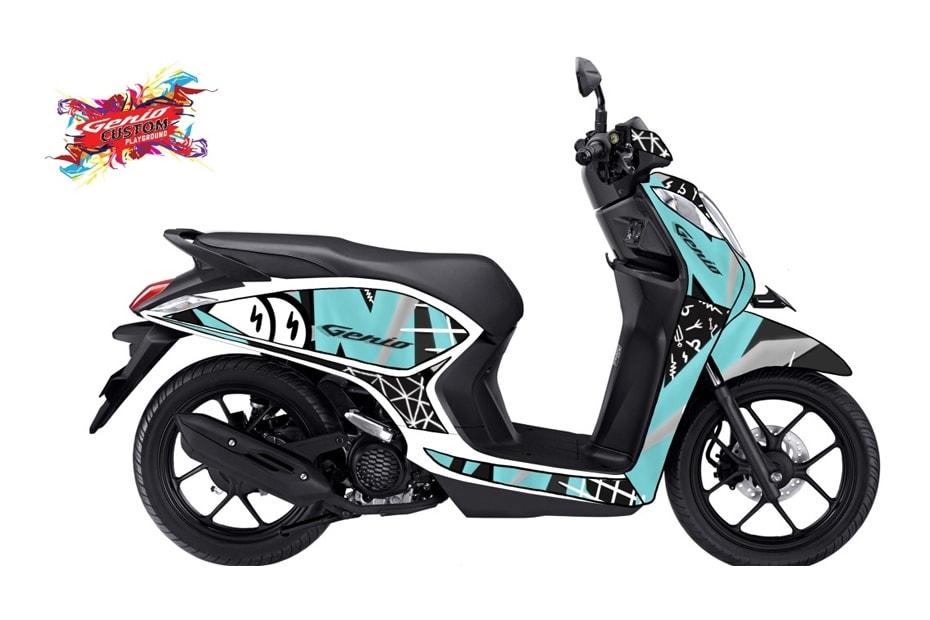เผยภาพจักรยานยนต์จากกิจกรรม AHM การประกวด Genio Artwork
