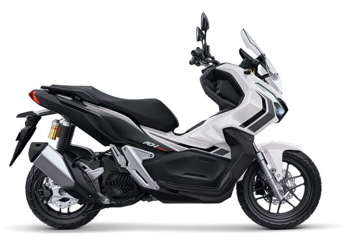 ฮอนด้า ADV150 2020 สีขาวใหม่