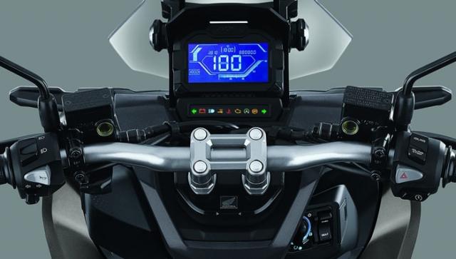 Honda ADV 150 2019 หน้าปัดเรือนไมล์