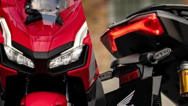 Honda ADV 150 2019 ไฟหน้าและไฟท้าย
