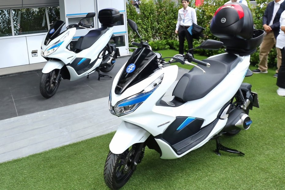 AP Honda ร่วมมือพัฒนา PCX Electric Smart Station สกูตเตอร์พลังงานไฟฟ้า