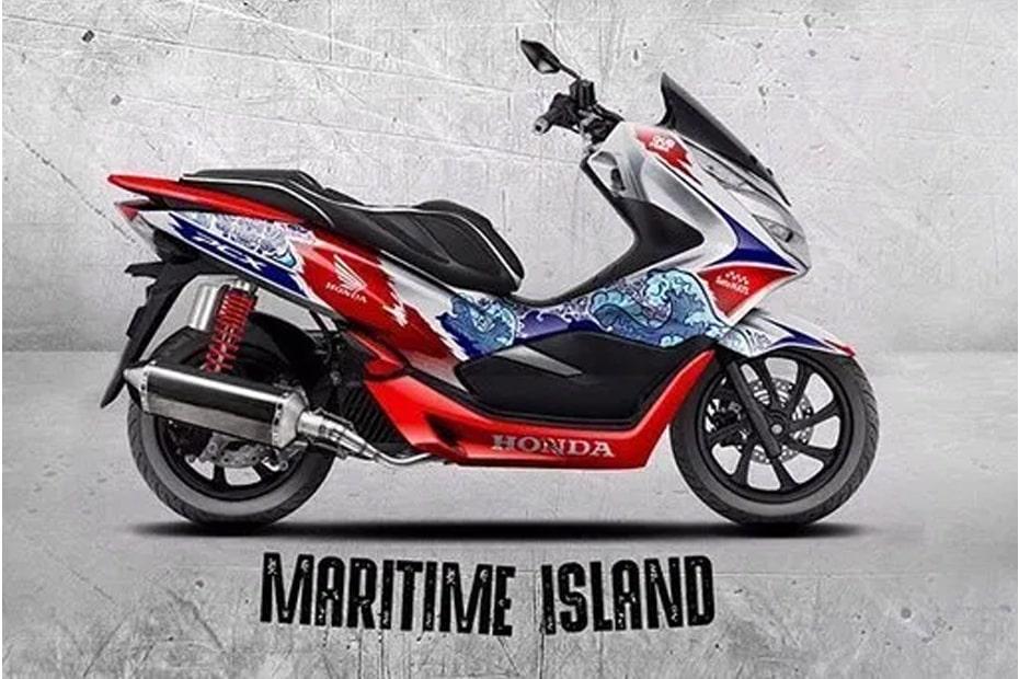 Honda Modif 2019 งานออกแบบ PCX PCX150 Maritime Island