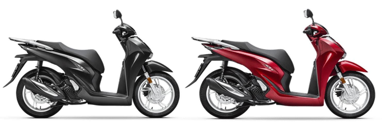 SH125 2020 สีดำและสีแดง