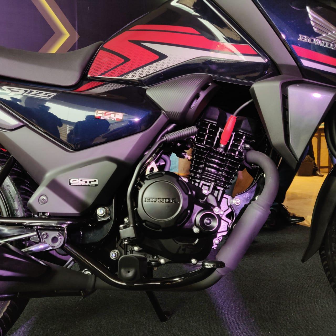 SP 125 2020 เครื่องยนต์ใหม่