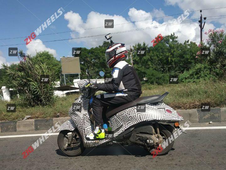 ภาพหลุด Yamaha Fascino BS6 วิ่งทดสอบ