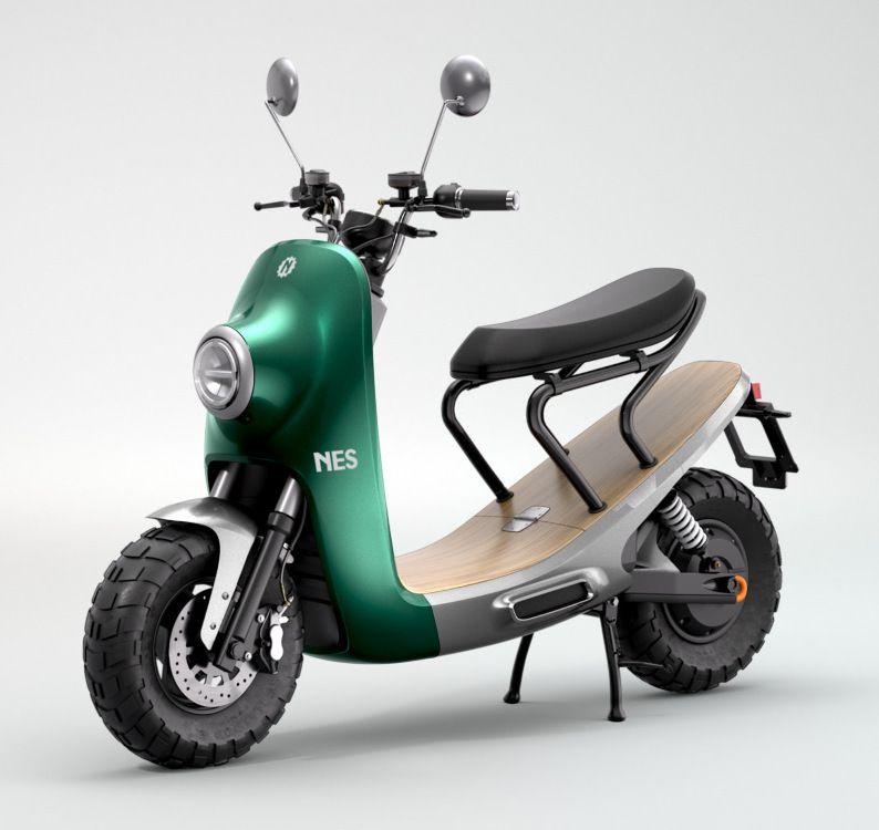 NITO NES สีเขียว